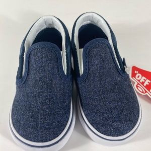 Vans Shoes - Vans Classic Slip-On Suede & Suiting Sneakers